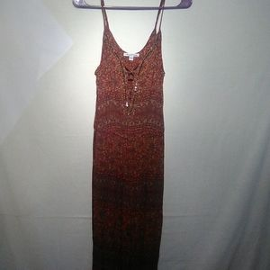 American eagle outfitters brown jumpsuit. Medium.